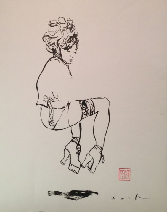 David Mack,  brilliant stroke reminiscence of Schiele and the gang from beginning of century