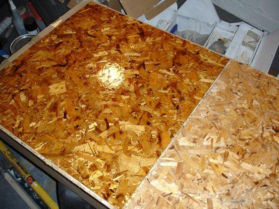 Osb flooring a great inexpensive modern alternative for Inexpensive flooring alternatives