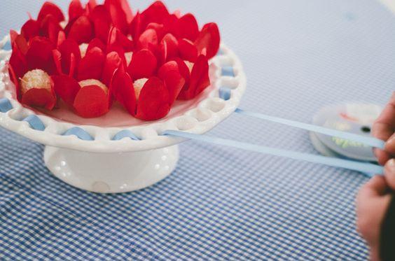 Laço na porcelana