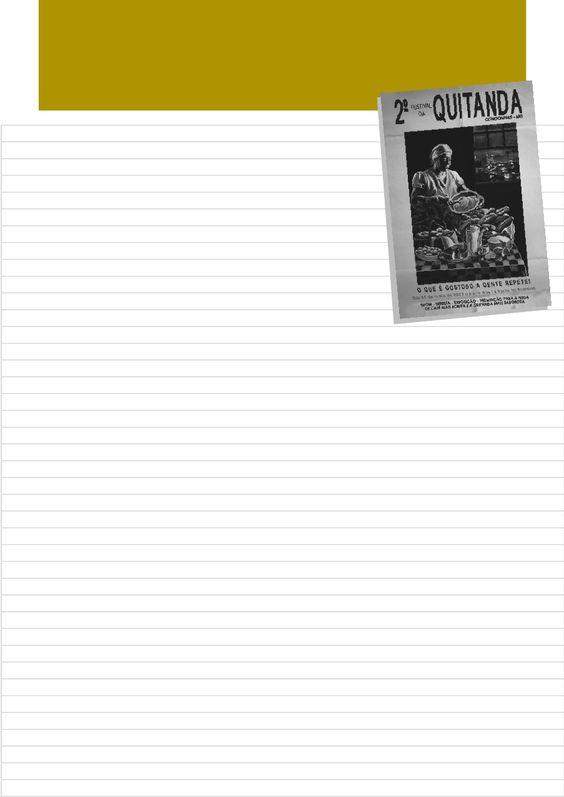 Caderno de Receitas com Quitandas Mineiras