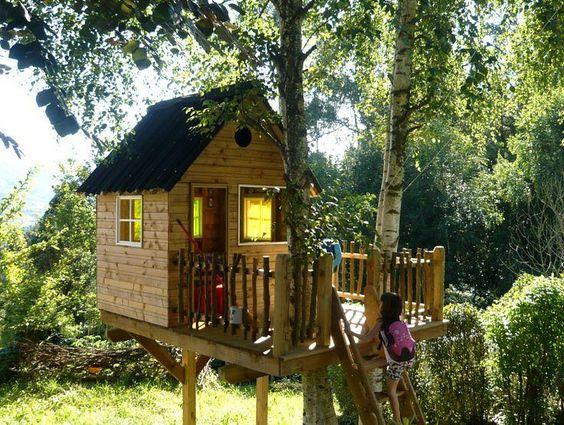 Casas en el árbol: El sueño de todo niño se puede hacer realidad