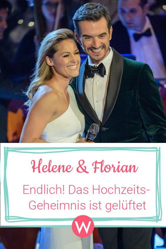 Helene Fischer Florian Silbereisen Hochzeits Geheimnis Geluftet Helene Fischer Florian Silbereisen Florian Silbereisen Florian