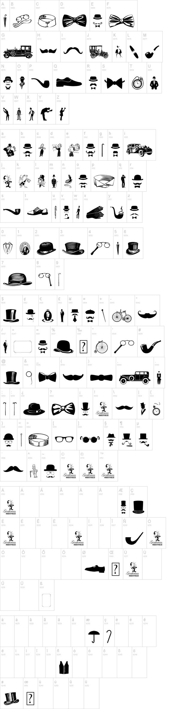 Knitting Font Dafont : Gentleman icons and bow ties on pinterest