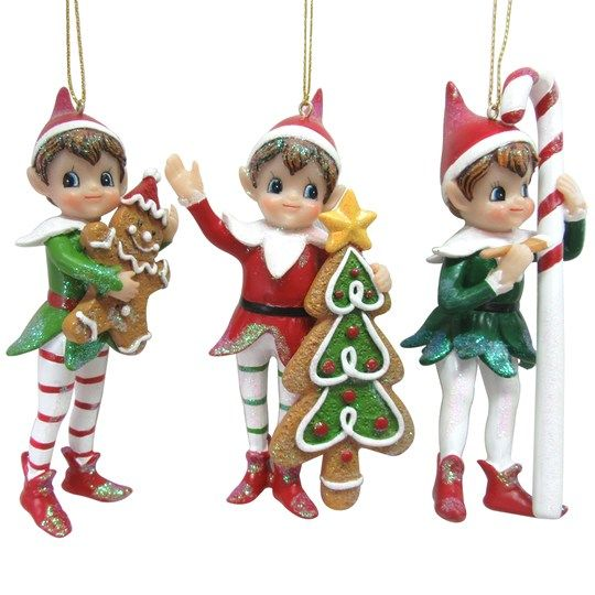 Find The Assorted Vintage Elf Ornament By Ashland At Michaels Elf Ornaments Ornaments Christmas Elf