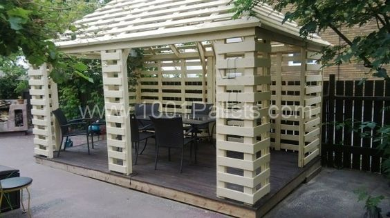 Pallet pavillon | 1001 Pallets