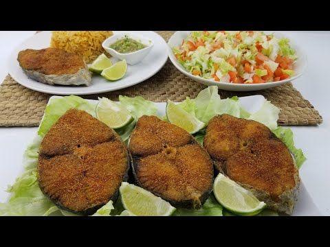 سمك ديرك مقلي بالطريقه اليمنيه Yemeni Style Fried King Fish Youtube Yemeni Food Food Recipes