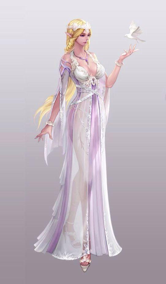 Princesa elfa