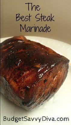 Steak marinades, Best steak and Steaks on Pinterest