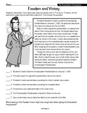 Printables Emancipation Proclamation Worksheet pinterest the worlds catalog of ideas worksheet emancipation proclamation ri 4 1