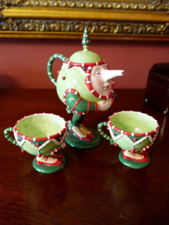 3 Piece Footed Tea Set - in personal collection