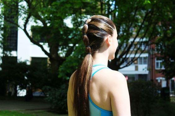 Peinado prometedor para un buen entrenamiento