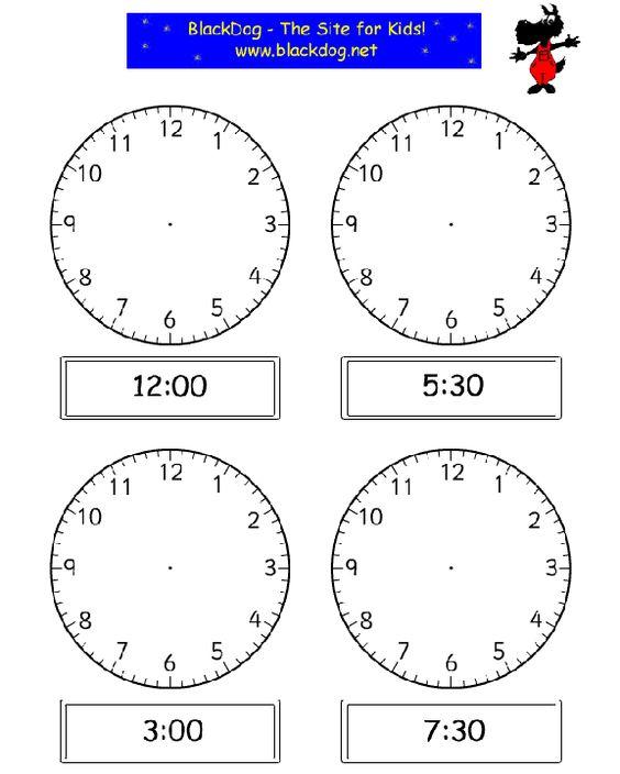 math worksheet : basic telling time worksheets for kindergarten  practice telling  : Clock Worksheet For Kindergarten