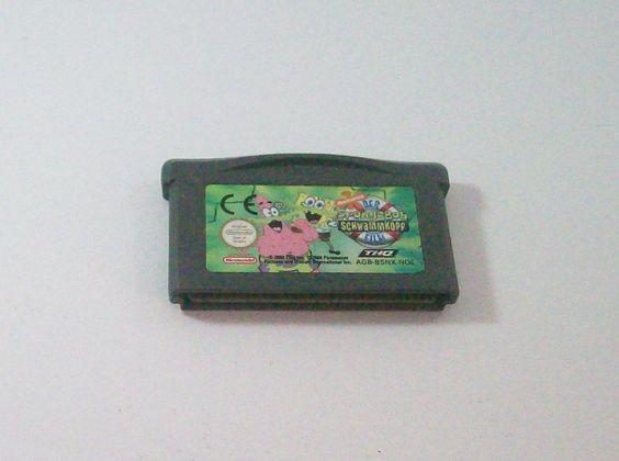 #Spongebob #Schwammkopf- Der Film #Nintendo #Gameboy Advance ( #GBA ) #eBay
