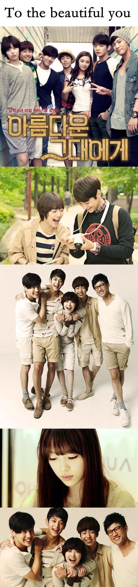 To The Beautiful You (kdrama 2012) - 16 episodes - Choi Minho / Choi Sulli / Lee Hyun-woo