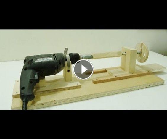 How to make a Mini Lathe