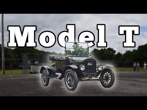 1925 Ford Model T Roadster Regular Car Reviews Youtube Ford