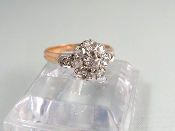 A personal favorite from my Etsy shop https://www.etsy.com/listing/259153059/outstanding-platinum-and-18k-solid-rose