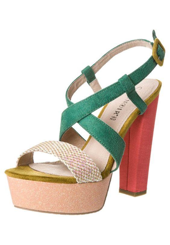 CAFèNOIR High Heel Sandalette - multi