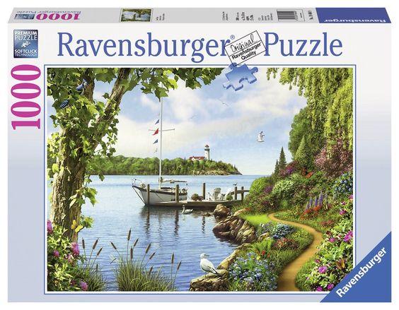 Boat Days - 1000 Piece Jigsaw Puzzle