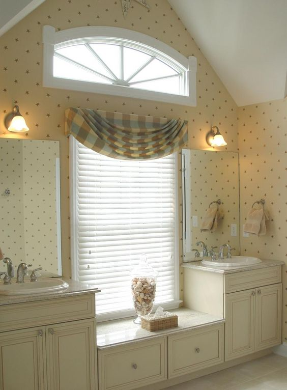 Bathroom Window Treatment Designs | Bathroom Window Treatments | Home  Interior Design