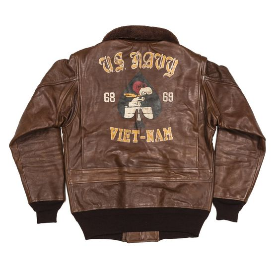 SNOOPY FLIGHT ACE US NAVY G-1 FLIGHT JACKET - TSTPR | STYLE