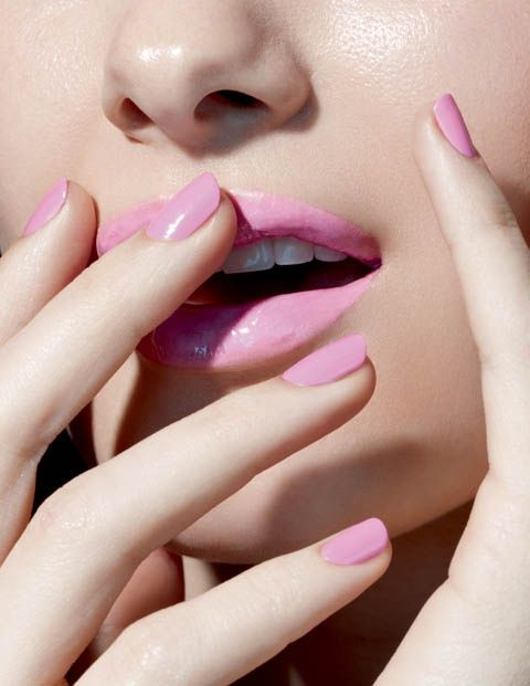 Great colour pink lipstick!
