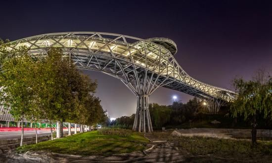 Tabiat bridge from outside