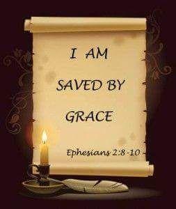 His amazing grace..
