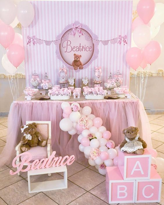 Ideas De Decoracion Baby Shower Nina.Decoracion Baby Shower Nina Elegante Decoracion Baby