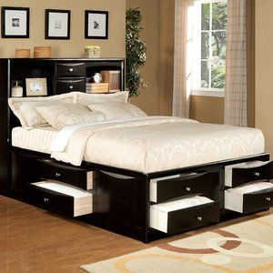 awesome storage bed!