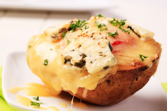 If you're looking for the ultimate appetizer, look no further than Patricia Heaton's Cleveland stuffed potatoes. They are our current obsession.