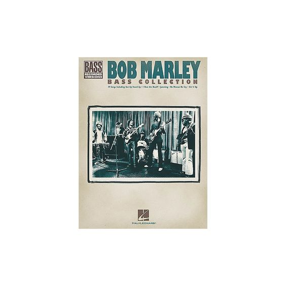Hal Leonard Bob Marley Collection Bass Guitar Tab Songbook