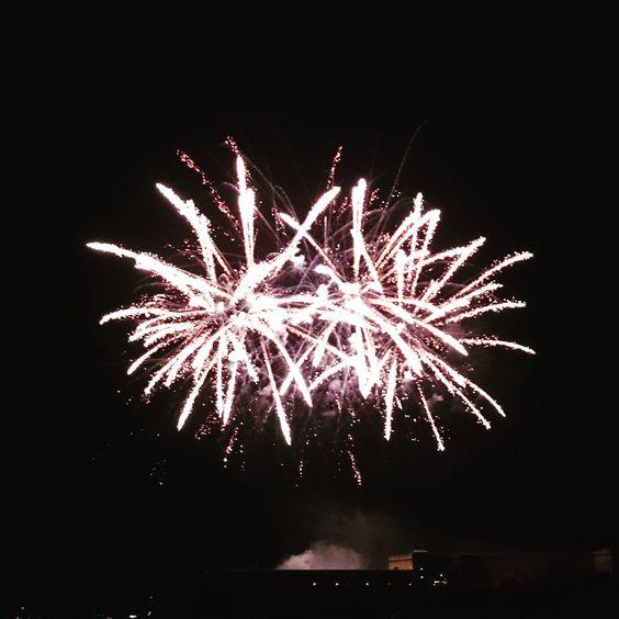 #fireworks #night #castle