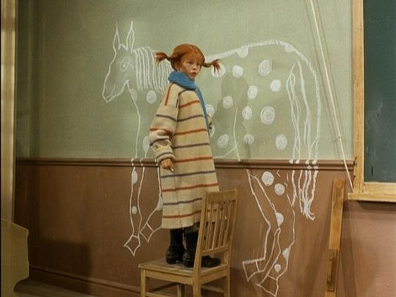Pippi at school