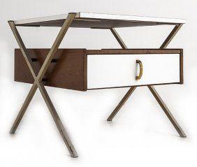 "Franco Albini (attribution) ""x"" Night Table"