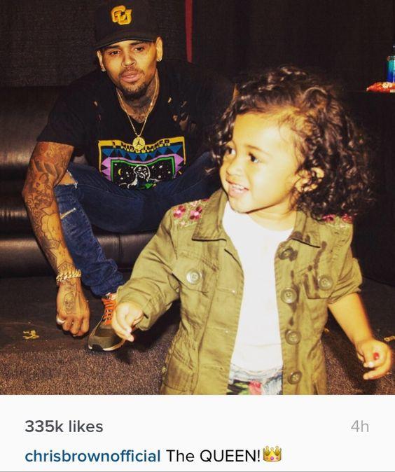 Chris Brown and royalty