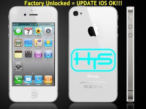 Apple iPhone 4 8Gb White MD198LL/A Quadband World GSM phone [Factory Unlocked] ($328.90)