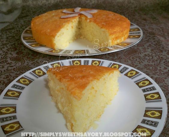 Simply Sweet 'n Savory: Coconut Cake & Awards