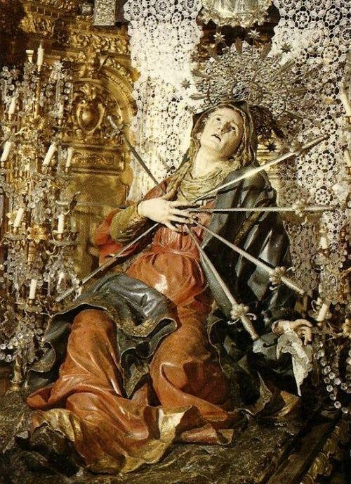 Sete Dores De Nossa Senhora Com Imagens Nossa Senhora Das