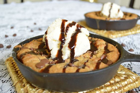 Treat Yourself to a Mouth-Watering Iron Skillet Chocolate Chip Cookie
