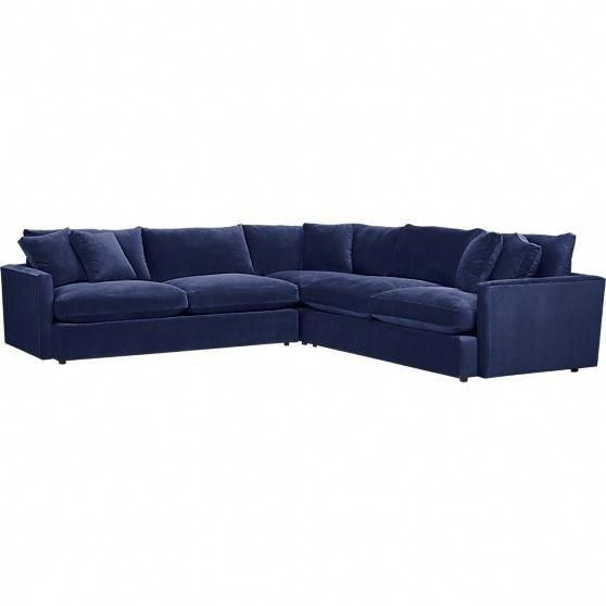 Navy Blue Sectional Sofa Foter Blue Sectional 3 Piece Sectional Sofa Sectional Sofa