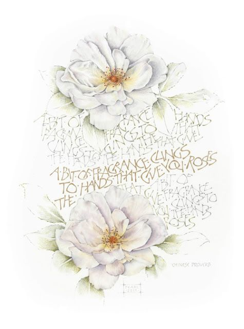 Limetrees Studio Calligraphy By Pearl De Chalain S