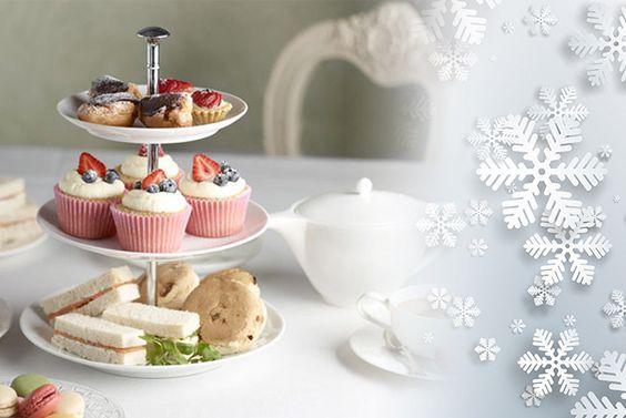 Christmas Afternoon Tea for 2