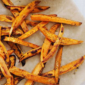 Sweet Potato Fries and dipping sauces