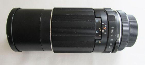 Just Listed at only £11.95 - Bargain! Super Multi-Coated Pentax M42 screw  Takumar 1:4/200 5856070 Asahi Camera Lens