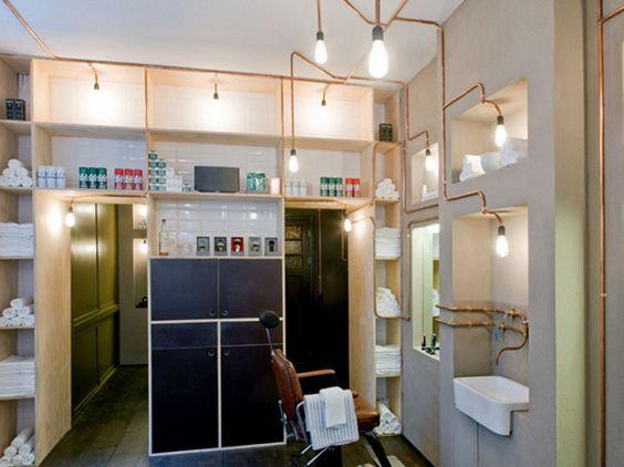 Barbearia em Amsterdã: Loja que parece vinda dos anos antigos faz sucesso na capital holandesa | LIVING EYE4DESIGN