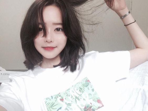 korean short hair makeover