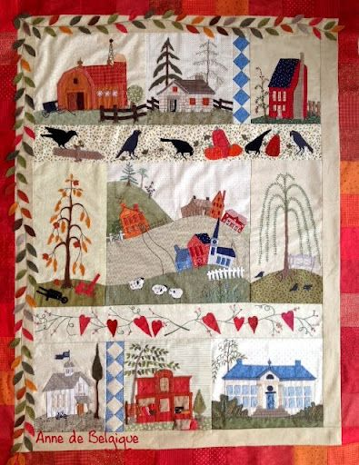 Quilts mystère Eastwood Village - Roxane.jb - Picasa Web Albums: