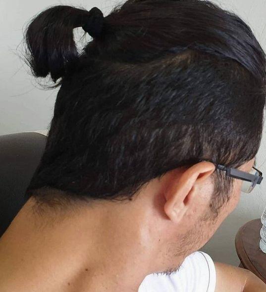 Hairstyle By Yoengkk80 On Instagram Best Ponytail Hairstyles For Men Ponytail Hairstyles Hair Styles Short Hair Ponytail