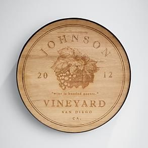 personalized wine cellar sign  #redenvelope and #fathersday